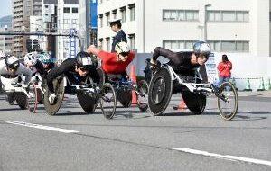 大分車いすマラソン2020の画像