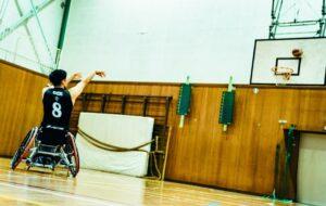 車いすバスケで3連続スリーポイントシュート! 永田選手のスゴ技に密着!!の画像
