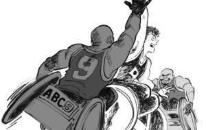 2021ジャパンパラ車いすラグビー競技大会の画像